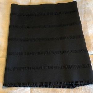 Black Bandage BodyCon Skirt